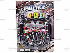 Полицейский набор с тиром и пистолетами, 500-4