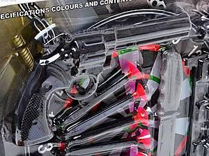 Полицейский набор с тиром и пистолетами, 500-4, фото