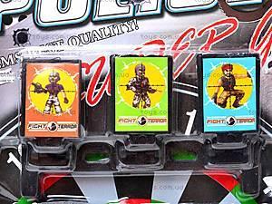 Полицейский набор с тиром и пистолетами, 500-4, детские игрушки