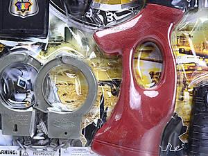 Полицейский набор Super Power, 0754-12, игрушки
