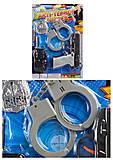 Полицейский набор 2 вида, 2026-6B7B, детские игрушки