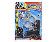 Игровой набор «Полицейского», 307-6, интернет магазин22 игрушки Украина
