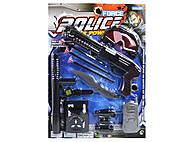 Полицейский набор с маской, 330-1, купить игрушку