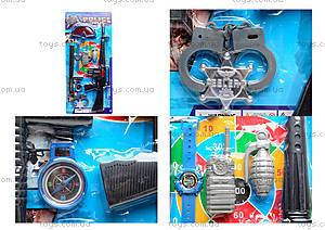 Полицейский набор с мишенью, 3814-2