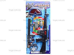 Полицейский набор с мишенью, 3814-2, отзывы