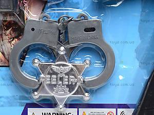 Полицейский набор с мишенью, 3814-2, цена