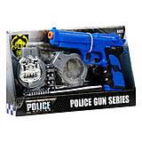 Полицейский набор (4 элемента), 291-5
