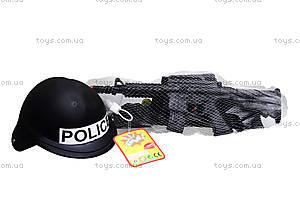 Детский полицейский набор с каской, 8805, цена