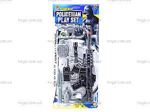 Детский игровой набор «Полицейский», B987-4