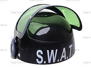 Игрушечный полицейский набор с каской, 678E, купить