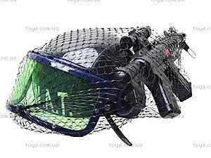 Игрушечный полицейский набор с каской, 678E, отзывы