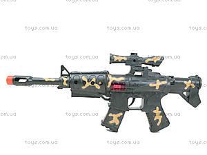 Военный набор с автоматом и каской, B678-4, купить