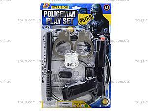 Набор для игры «Полицейский», C987-3