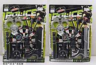 Полицейский набор для игры с тиром, 680-7680-8, фото
