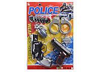 Полицейский набор на планшете, 10-1