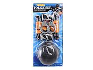 Полицейский набор, с шлемом, 13-3, опт