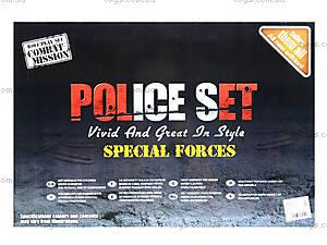 Игровой набор полицейского для детей, PE-013, фото