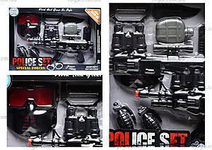 Игровой набор полицейского для детей, PE-013