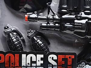 Игровой набор полицейского для детей, PE-013, игрушки