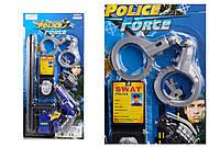 Полицейский набор, с рацией, дубинкой, 33650, отзывы