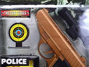 Полицейский набор «Пистолет с мишенью», 3041B, цена