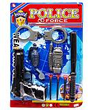 """Полицейский набор """"Police Force"""" вид 1, 1313-3, фото"""