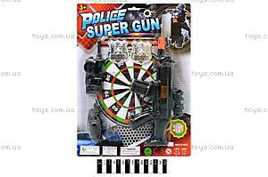Полицейский набор с дартсом, YQ898-K2