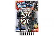 Полицейский набор с дартсом, YQ898-K2, фото