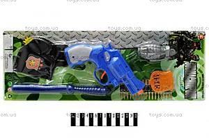 Полицейский набор с пистолетом и дубинкой, 2525-H7