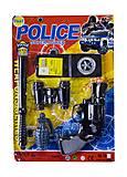 Полицейский набор с пистолетом и гранатой, 10-6, фото