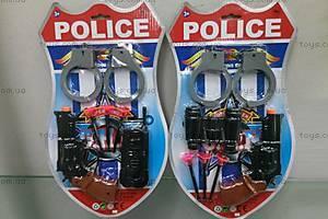 Полицейский набор с пистолетом и рацией, 23-1