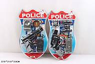 Полицейский набор с рацией и пистолетом, 23-7, фото