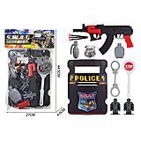 Полицейский набор SWAT со щитом (2020-34), 2020-34, набор
