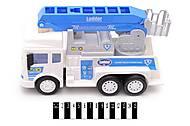 Полицейский транспорт с краном, RJ6682-5, фото