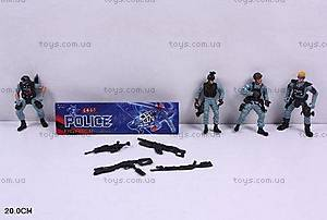 Полицейский игрушечный набор для мальчиков, 5898-A7