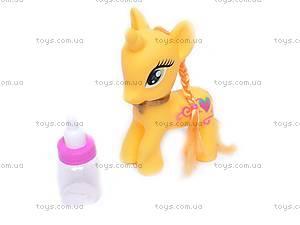 Пони, с бутылочкой, H581