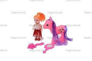 Пони с куколкой, 686-603, купить