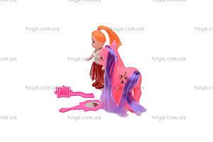 Пони с куколкой, 686-603, фото