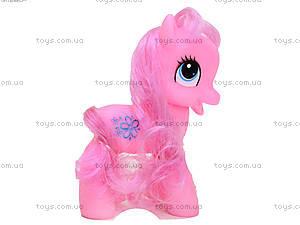 Розовый набор пони в коробке, 050, купить