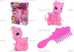 Розовый набор пони в коробке, 050
