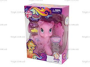 Розовый набор пони в коробке, 050, игрушки