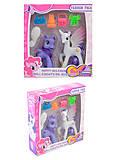 Игрушка «Пони» 2 вида, с аксессуарами, 200, отзывы