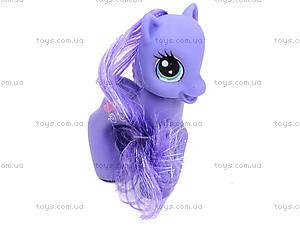 Набор игрушечных пони в сумочке, 6220В, фото