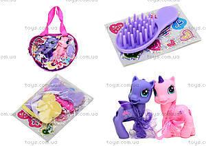 Набор игрушечных пони в сумочке, 6220В