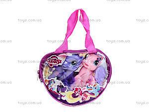 Набор игрушечных пони в сумочке, 6220В, детские игрушки