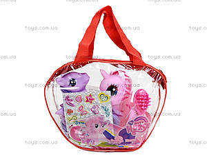 Набор пони в сумочке, L28-2, игрушки