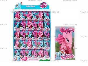 Детская игрушка «Пони» с расческой, L36-3, купить