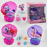 Пони Mermaids с аксессуарами в ассортименте , 88554, игрушки