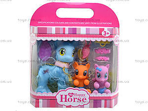 Игровой набор для девочек «Милые пони», L-A15-6, отзывы