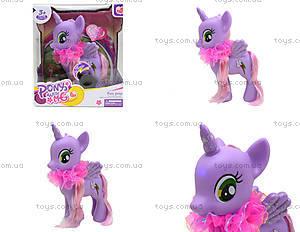 Игрушечный пони с аксессуарами Pony, 0186-18